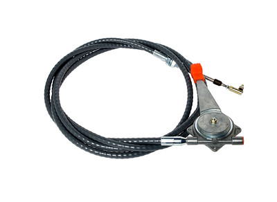 HITACHI EX 60 200 - 2 - 3 - 5 300 - 4 JS 120 CONVERSION TO MANUAL HAND THROTTLE CABLE 3850MM LONG