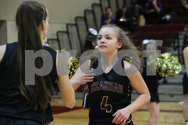 2018-02-06 Issaquah Girls Basketball vs Eastlake
