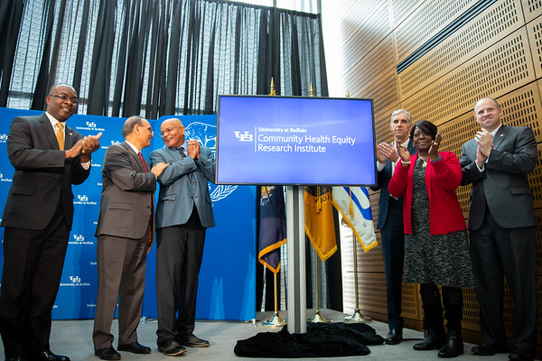 190401 UB Community Health Equity Research Institute, press conference, CTRC