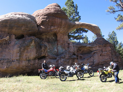 Jemez Mtns. - Northern-Western Jemez DS Ride  10-11-07