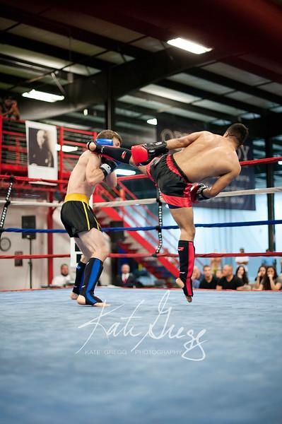 Rene Briseno of Sparta Muay Thai vs Robert Neat of Derby City