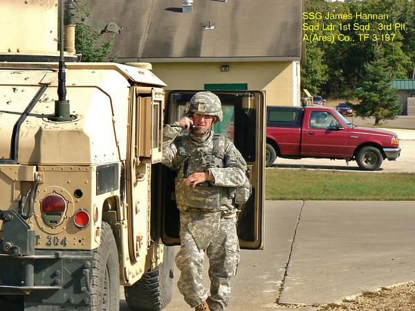 Gunnery Lane Training Ft. McCoy, WI  Sept. 2010