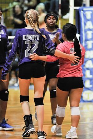 August 13, 2019 -  JV Volleyball vs Tattnall Square Academy