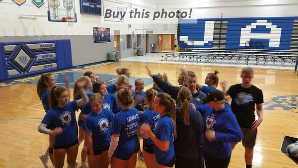 BBE volleyball preparing for state 11-05