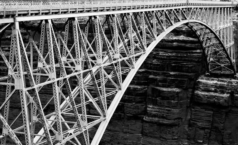 Old Navajo Bridge, Marble Canyon, Arizona, 2000