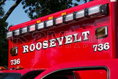 Roosevelt Ambulance 736 Dedication [9-28-14]