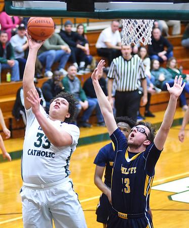 HS Basketball: Wickliffe @Elyria Catholic 03022018