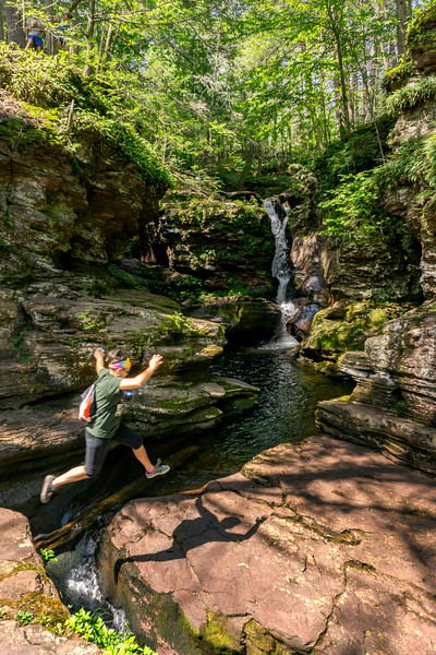 ricketts glen - steph jumping (p).jpg