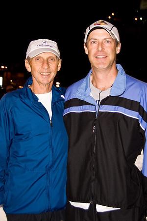 2011 Detroit Marathon--John and Jeff