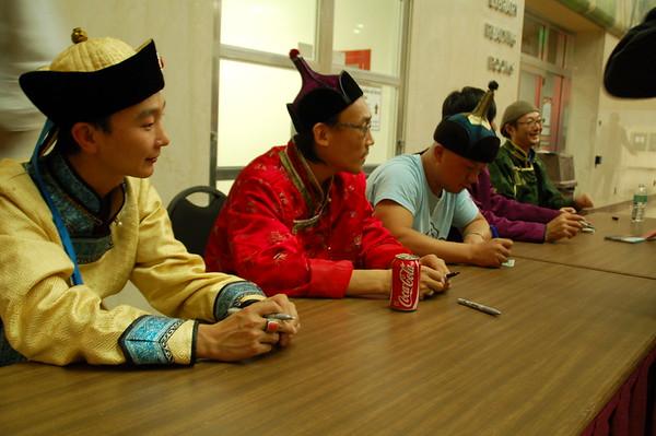 Hanggai Meet and Greet