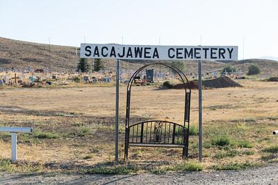 Sacagawea Grave & Pioneer Village