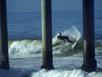 5/7/20 * DAILY SURFING PHOTOS * H.B. PIER