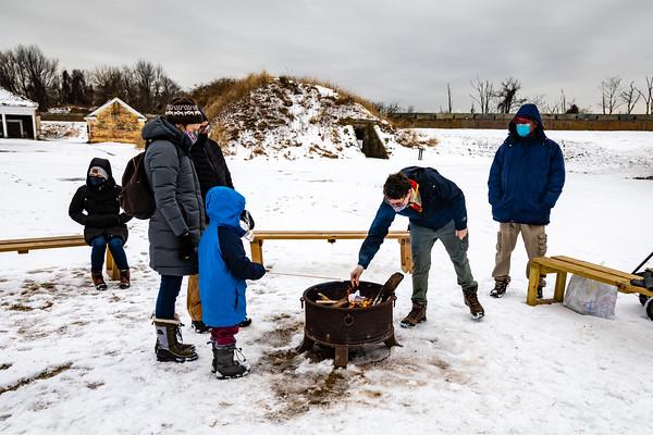 Fort Mifflin Family Fire  Pit Festival 2021