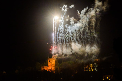 Fuochi Castello di Conegliano 06.11.2016