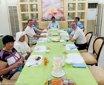Mass and Dinner With Bishop Mylo Hubert Vergara
