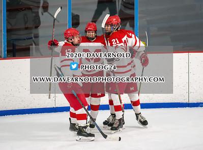 1/28/2020 - Boys Varsity Hockey - Lexington vs Melrose