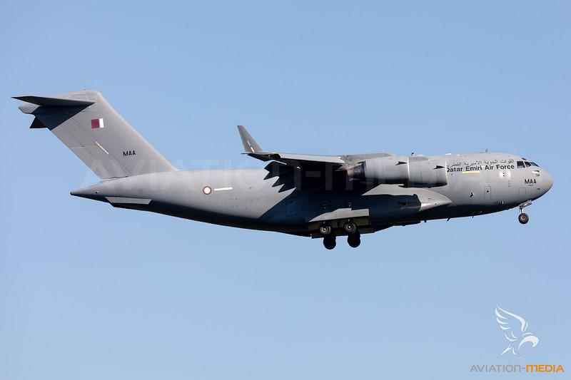 Qatar - Air Force | Boeing C-17A Globemaster III | A7-MAA