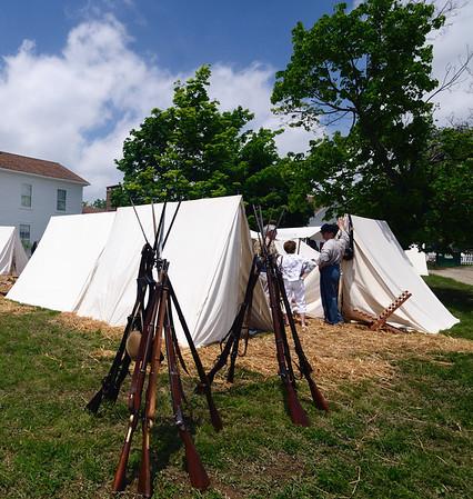 Burton Civil War Re-enactment