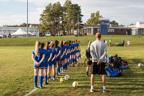 2020-9-29 WHS Girls Soccer vs Oyster River