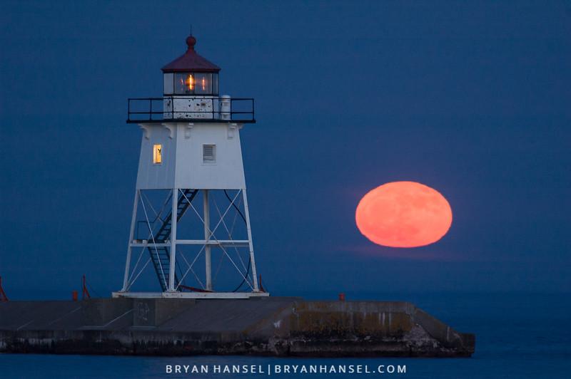 Grand Marais Moonrise