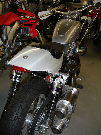 XR883 Harley Streettracker Project