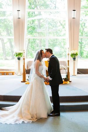 Jeff and Lauren Wedding - Couple