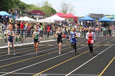 Girl's 400 Meters - 2012 MHSAA LP D3 T&F