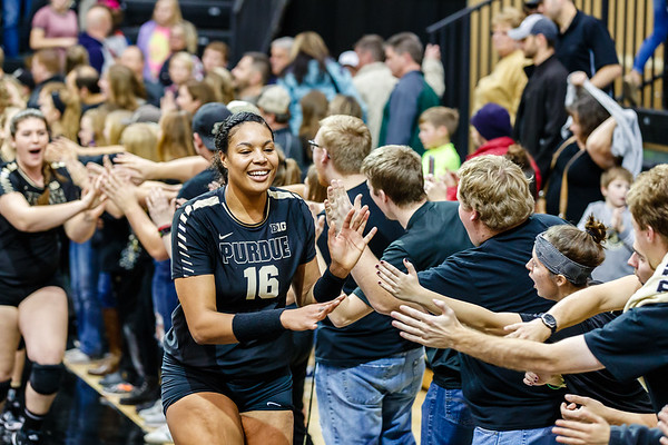 Purdue Volleyball vs Michigan State 2017-11-24