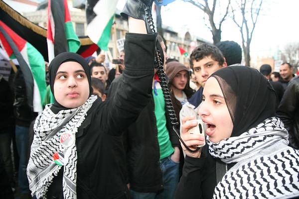 (1) Manchester Gaza protest December 2008
