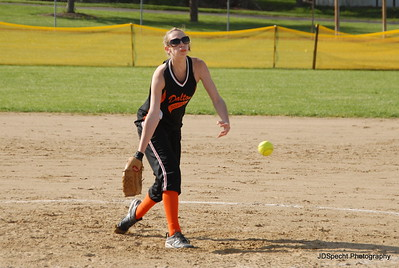 Dalton vs Hillsdale- Kayla Pitching