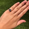 .53ctw Rose Cut Halo Ring, by Single Stone 40