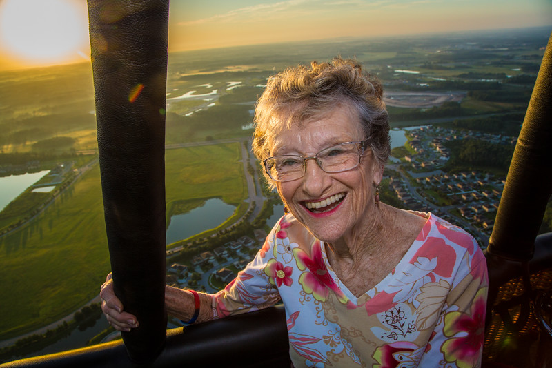 Wish of a Lifetime - Beverly's Hot Air Balloon Ride