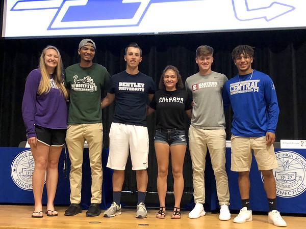 Plainville student athletes