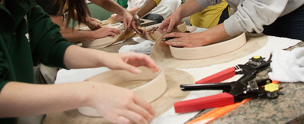 Drum Making Workshop with Tony Showa, Fall 2015