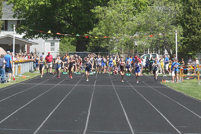 UP Girls' 100 Meters - 2014 MHSAA T&F Finals