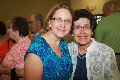 Family celebrating Grandmas Life