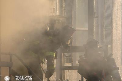 2 Alarm Dwelling Fire - 750 Railroad Ave, Bridgeport, CT - 4/10/20