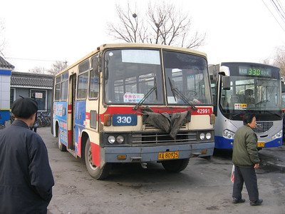 China : Beijing Buses and Coaches March 2006