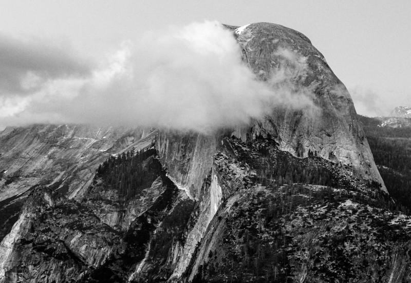 Glacier Point, Half Dome