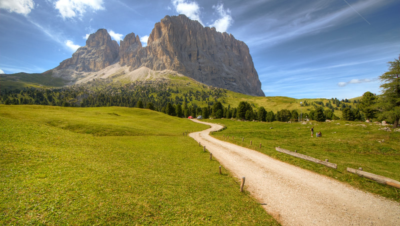 """The 3 Pinnacles"", Cortina d'Ampezzo"