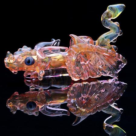 TheGlassCollector.com Keibler47 dragon pipe