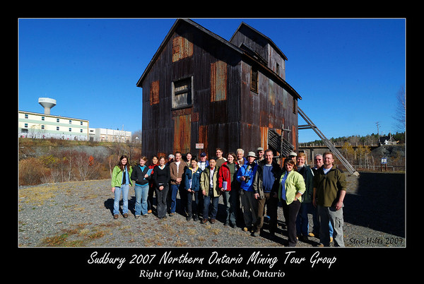 Northern Ontario Mining Tour 2007