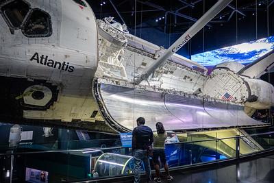 Space Shuttle Atlantis Open Payload Bay