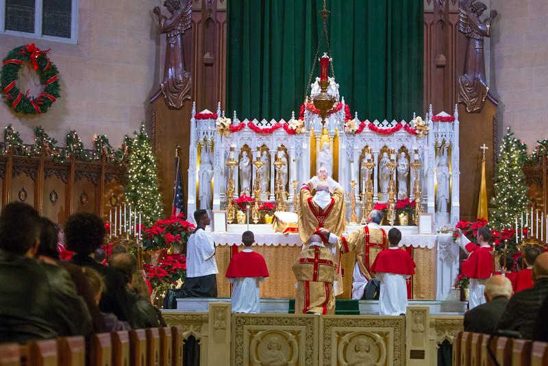 Elevation of the Eucharist