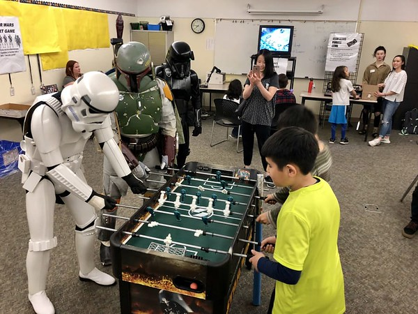 Shahala Library Star Wars Night
