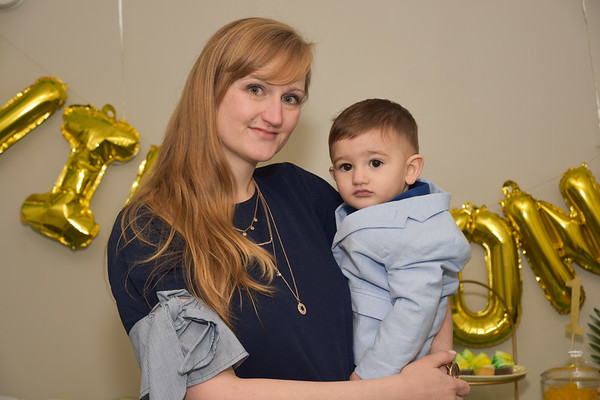 Leo's 1st Birthday Party