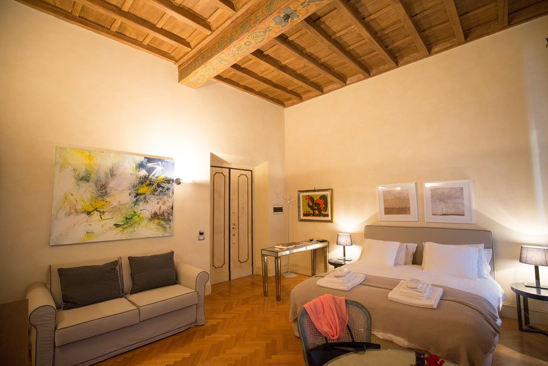 Our apartment in Rome for the week. Great location near the Pantheon and Piazza Navona.