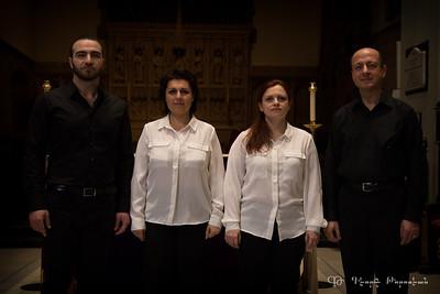 Hayk Quartet - Melody ensemble - Montréal en lumière