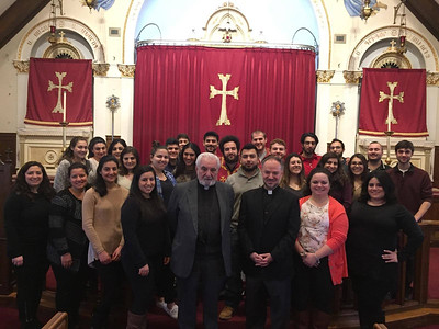 2016 ACYOA Srs. Lenten Retreats Across the Eastern Diocese