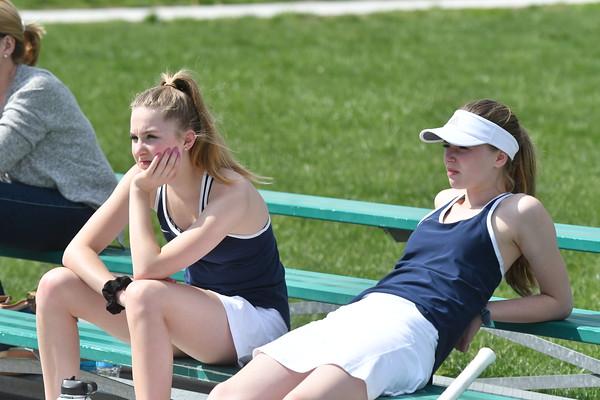Girls Tennis at  NE City Dual